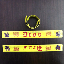 Alibaba supplier promotions gifts PVC reflective armbands