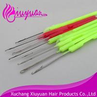 20pcs/pack Plastics Handle Pulling Needle/Micro Rings/Nano Rings/Loop Needle Hair Extensions,Hair Extension Tools
