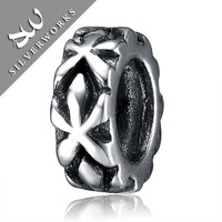 Environmental Women Bracelet Charms, Wholesale 925 Sterling Silver Jewelry Making