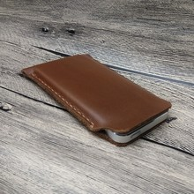 9500 handmade vintage leather pouch phone case for iphone 5S 5 phone sleeve
