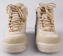 coyote tactical boots with zipper high quality outdoor boot
