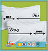 Plain Style and Woven Technics Custom Printed Pillow Case