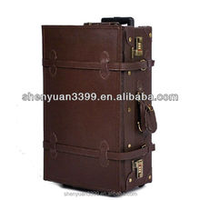 Vintage travel bag luggage female suitcase trolley luggage topgood grande case