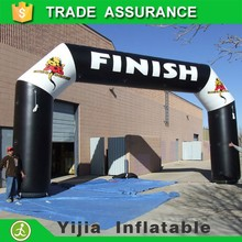 Outdoor advertising event inflatable gate