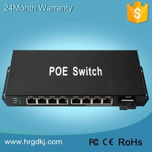 USA hot sale 8 port poe switch /network switch power over ethernet