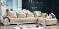 royal furniture french style fabric sofa for home furniture L539