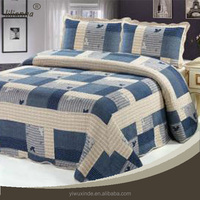 British amorous feelings king size patchwork bed set duvet cover