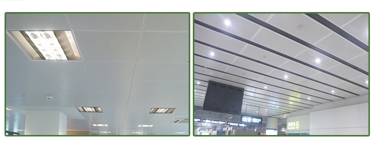 2014 New fireproof aluminum ceiling