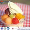 Popular Summer Dessert Soft Ice Cream with Fruits