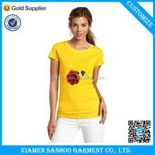 Casual Trendy Design Printed Girl Tshirt Lovely Fashion Style For Girls And Ladies