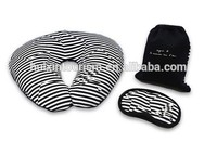 Luxury travel pillow kit for outdoor/airlines