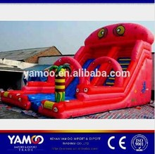 Hot sale inflatable fire truck water slide with good quality
