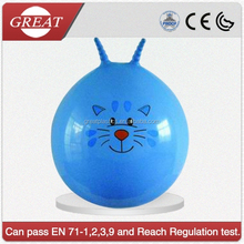 Blue cat design giant jumping bouncy ball hot sale in EU