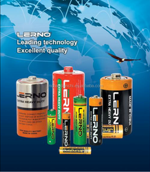 high qualtiy metal jacket dry cell Uganda Size D battery manufacturer, R20 dry battery manufacturers, cheap dry battery,