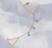 Excellent quality promotional 22k gold plated bracelet