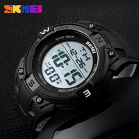 stainless steel back cover electric shock custom design watch