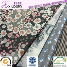 2015 new design private custom printed lining