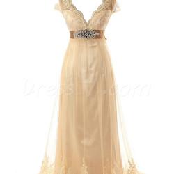 Plus Size Wedding Dress Backless Empire Waist Maternity Bridal Gown