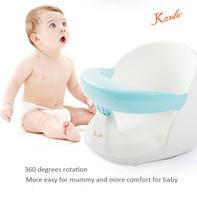 PM3315 2015 Karibu factory sell eco-friendly Baby Swivel layback Bath Seat booster seat