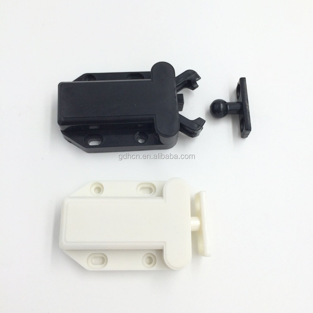 Touch catch latch,door catch,Push open Push lock,WH/BLK/BRN