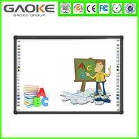 ceramic steel anti-glare scratch smart board whiteboard white board computer touch screen green board cheap school whiteboard