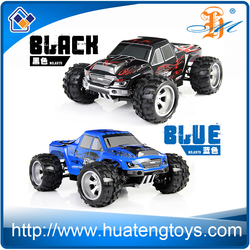 4 wheel drive rc off road cars 1 18 full proportional 2.4G 45km/h high speed 4wd remote control bigfoot monster trucks