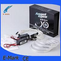 Free shipping Hot sale e36 e38 e39 ccfl angel eyes,e46 projector angel eyes halo rings kit
