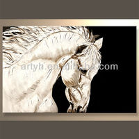Newest Handmade Animal Texture Canvas Painting For Decor