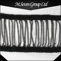Wholesale New Design Metal Chain, Metal Chain Trim, Mesh Trimming