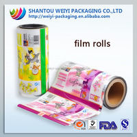 Food safty grade high density polyethylene film roll for candy