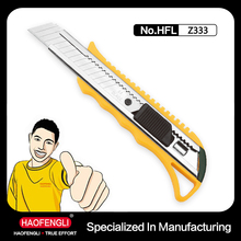 Power Tools For Utility Snap-Off Cutter Knife Saftey Plastic Knife with Auto Lock Cutter Knife