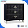 B-1507 Living room furniture black mini design cabinet europe style cabinet