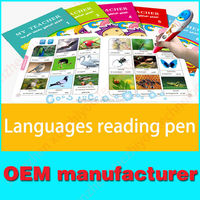 Digital Reader Pen ISO9001 Factory Custom Talking Pen kids adults translating pen OEM ODM manufacturing