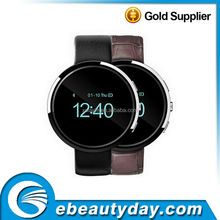 2015 Newest Leather Bluetooth Smartwatch SD360 Smart Watch for iPhone 4/4S/5/5S Samsung S4/Note 3 HTC Android Phone Smartphones