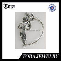 Delightful Fairy from the Turn of the Century Silver Fits the Left Ear cuff Made in China