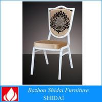 Soft mat ornate furniture banquet wedding chair