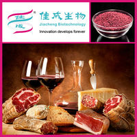 Meat color solution red fermented rice powder GMO free