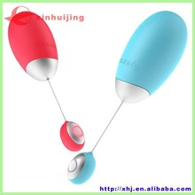Smartphone wireless controlled vibrator silicone sex toy of female