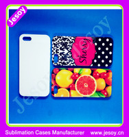 JESOY Wholesale For iPhone 5 5c 6 Custom Design Your Own Mobile Hard Back Phone Case Cover