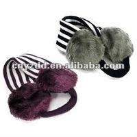 Men plush ear muffs for sale black
