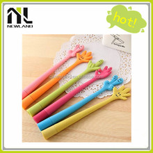 2015 New creative products advertising cheap fashion gel pen