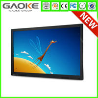 """Infrared technology high quality OEM 55"""", 65"""", 70"""", 84"""" 32 points multi touch screen monitors lcd led tv"""