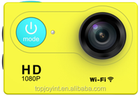 Factory Directly Selling 2'' LCD 1080P 60fps Mini Surf Camera action camera 170 wide Viewing Angle Waterproof 30M Wifi