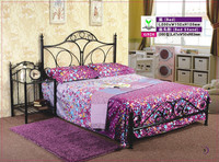 free shipping iron bed 1.6X2.0M MODEL G928