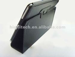Carbon Fiber Leather Smart Case Cover For iPad 2