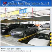 Underground liftiing sliding mechanical car parking system multi-layer lifting automatic smart garage