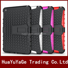 Dual Slim Armor TPU&PC kickstand case cover for Apple ipad mini 4