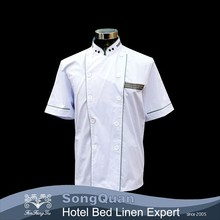 White Short sleeves chef Jacket, Cool Vent Chef Coat /chef uniform jacket / chef uniforms jacket shirt-SQJC150248