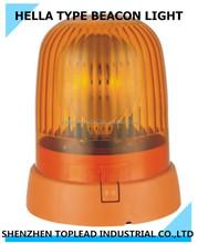 newly developeed 12/24V hella type halogen rotating beacon light