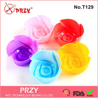 PRZY T129 cake decorating cupcake rose silicone mold
